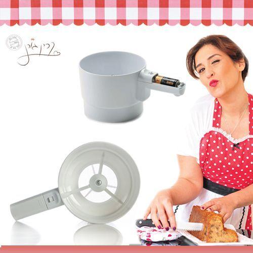 נפה חשמלית להכנת עוגות ומאפים בלי מאמץ! כמו שראיתם בתוכנית של קרין גורן - מבית Rosopro