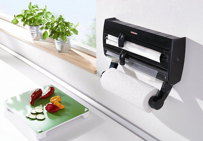דיספנסר למטבח מתקן משולב לגלילים PARAT F2 עם סכיני חיתוך אינטגרלים - משלוח חינם