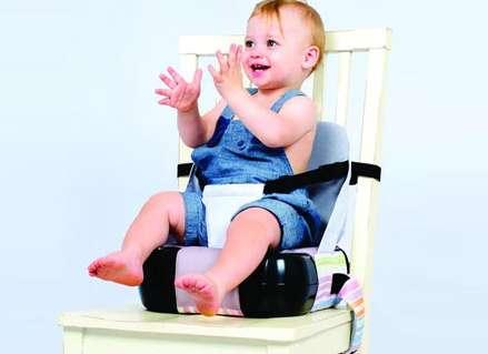 בוסטר מושב הגבהה + תיק אחסון! 2 ב 1 מבית המותג Kids-Kit