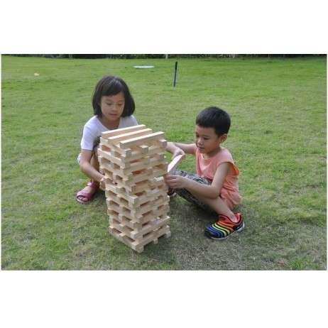 משחק לגינה/חצר: משחק ג'נגה ענק מעץ – GIANT GARDEN
