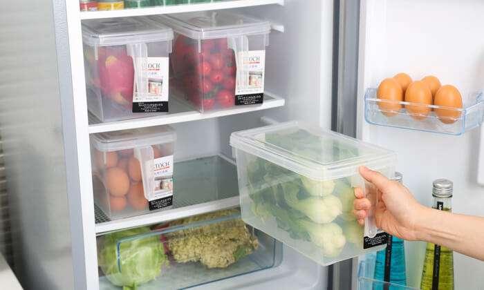 סט 6 קופסאות אחסון למזון בעלות ידית אחיזה ומכסה - כולל משלוח חינם