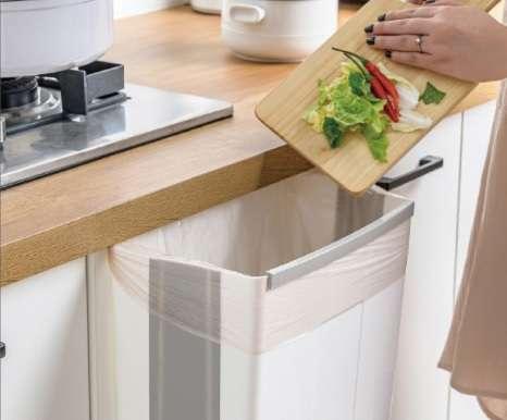 פח אשפה מתכווץ למטבח ב-49 ₪ בלבד !