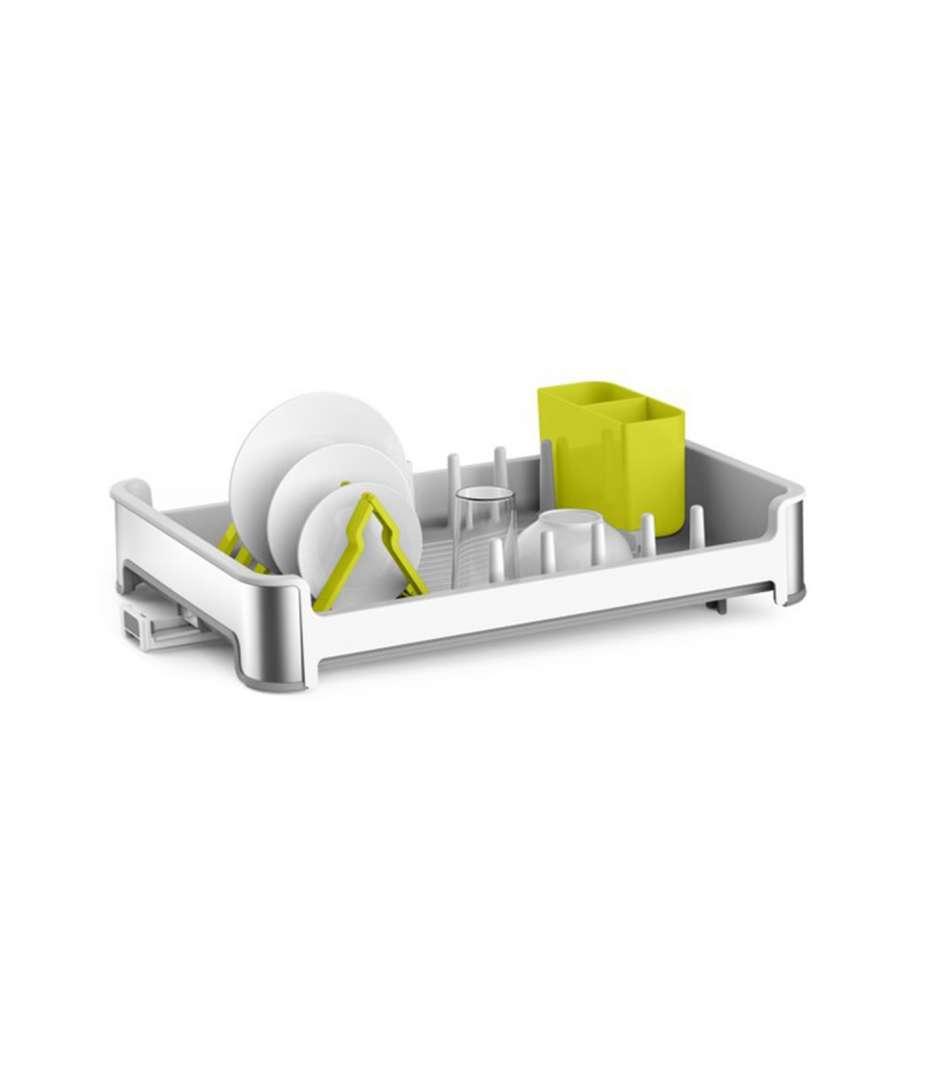 מייבש כלים איכותי למטבח מבית EKO - צבע לבן / אפור