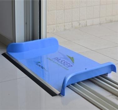 Passer פטנט מיוחד המאפשר לנקז את המים מהבית למרפסת, בקלות ומבלי ללכלך את המסילות - משלוח חינם