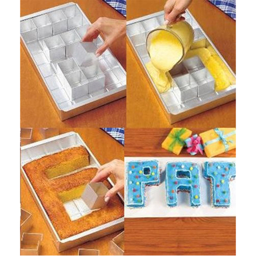 תבנית לאפיית ועיצוב עוגות בצורת אותיות ומספרים