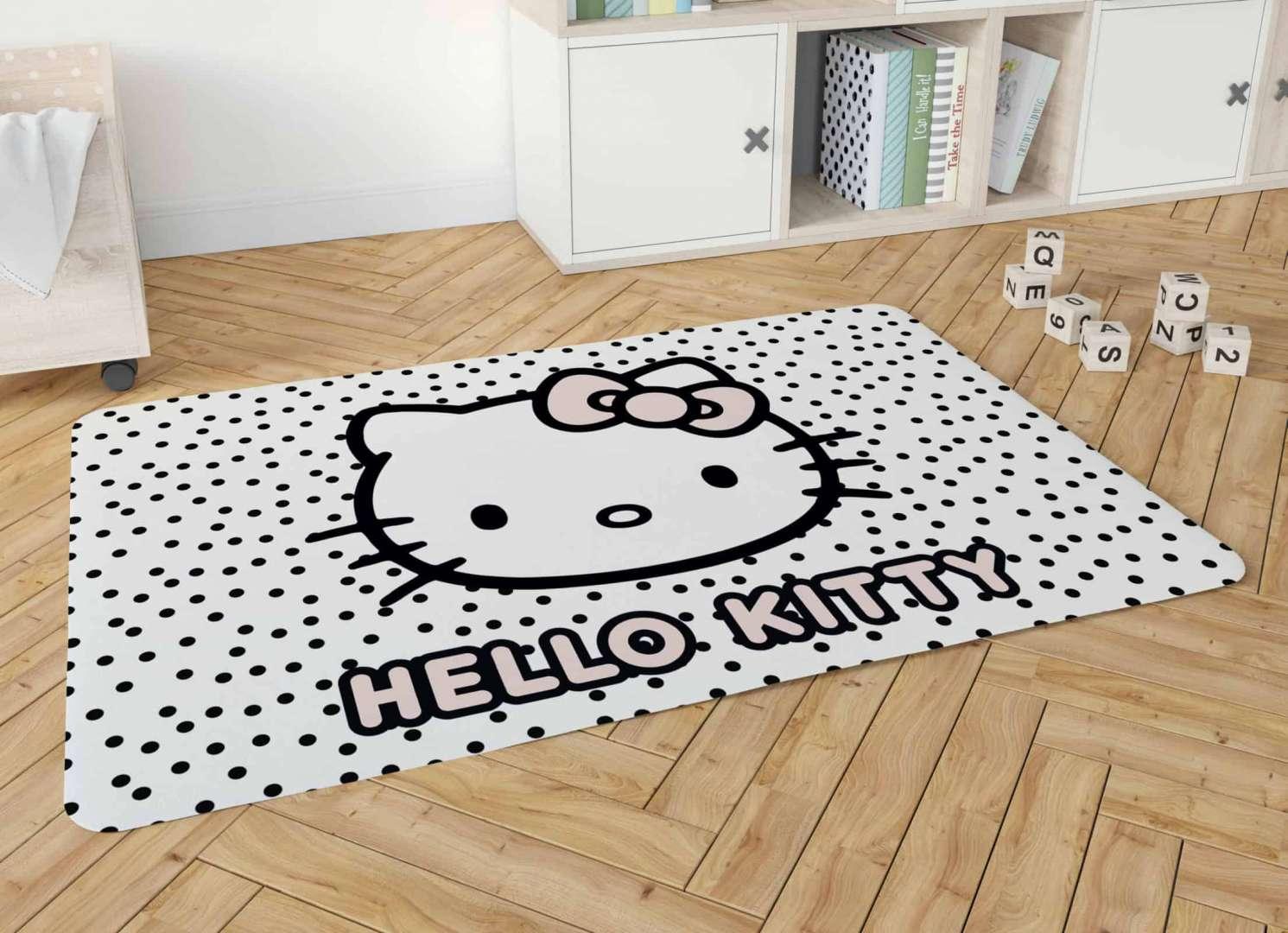שטיח פלנל מודפס רך ונעים למגע לחדרי ילדים - 8 דגמים לבחירה