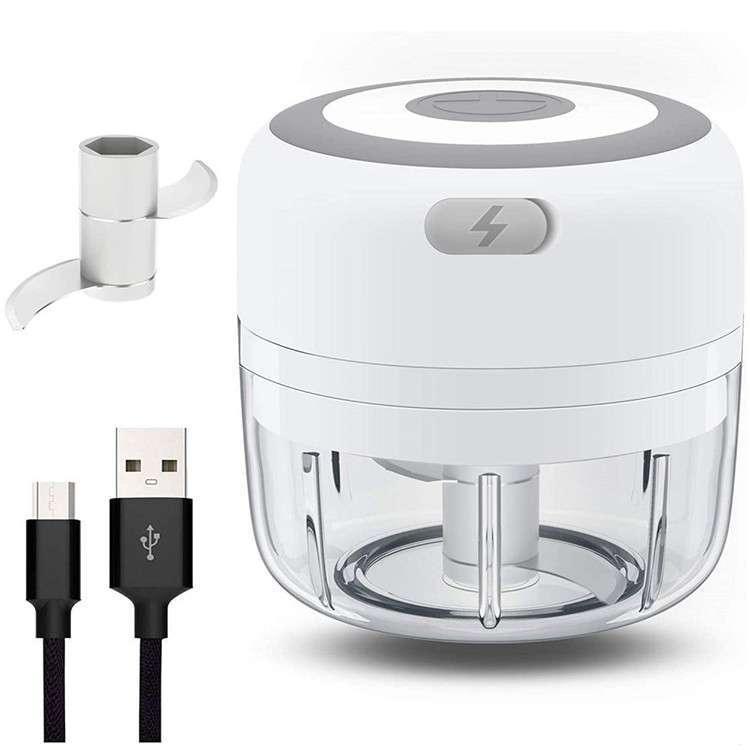 מיני קוצץ מזון חשמלי, נטען USB