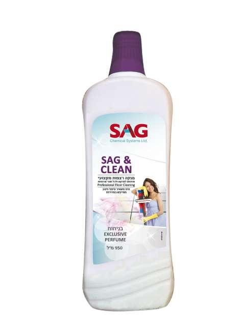 SAG&CLEAN – נוזל לניקוי רצפות